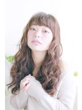 美髪デジタルパーマ/バレイヤージュノーブル/クラシカルロブ/571 シュシュ.57