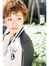 【Noah銀座】甘辛mixヌーディーショート☆☆ ボーイッシュ.28