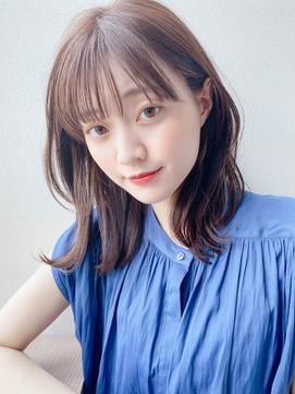 [K-two青山]レイヤーミディ/シースルーバング[青山/表参道]