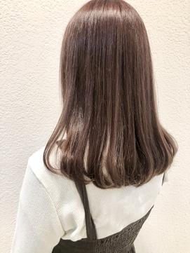 《Blue阿部★》#暖色系カラー#ピンクベージュ