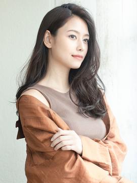 アフロート斎藤 20代30代大人エレガントロングヘア暗髪