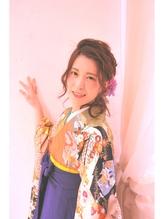 【向ヶ丘遊園 美容室 Neolive plus】卒業式ヘア・着付け・メイク 浴衣.45