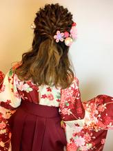 卒業式 袴 成人式 振袖 ルーズ ヘアアレンジ 成人式.44