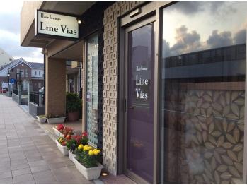 ヘアーラウンジラインビアス(Hair lounge Line Vias)(神奈川県高座郡寒川町/美容室)