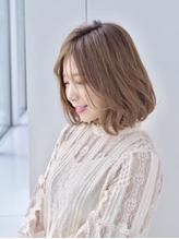 ふわボブ☆柔らかベージュ 《aL-ter LieN ノノヤマ》.25