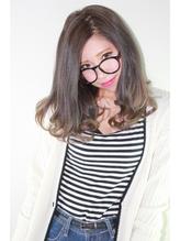 【ff hair】黒髪風☆ダブルカラー+パールブラウン系×グラデ .14