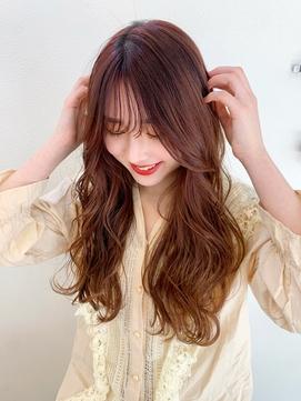 〈藤間〉韓国風オルチャンパーマ