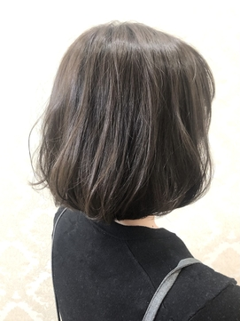 【GRAN HAIR 神居店】グレーカラーのお洒落ボブ