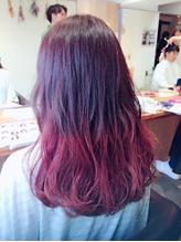グラデーションカラー ピンク ベリー .7
