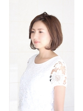 【sorriso hair桜山】大人ボブ×ひし形シルエット30代40代◎.48
