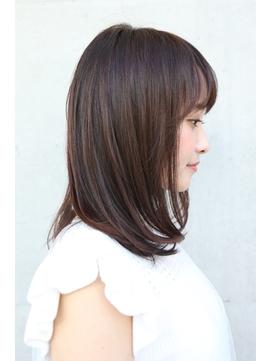 艶髪ミディアム[髪質改善/柏/超音波/トリートメント/縮毛矯正]
