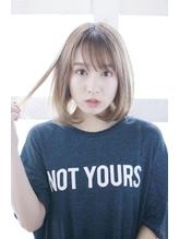 【Lucy 新宿】グレージュぬけ感ボブ.17