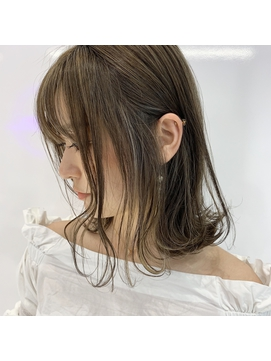 【★Neon×タキタ】ハイライト × モカアッシュベージュ