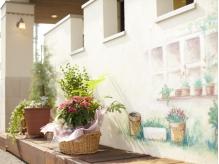 ステキなお庭には、植物がいっぱい♪