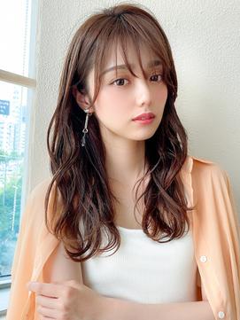 LallYou【錦糸町】ベージュカラーネオウルフウェーブパーマ