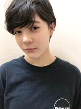 黒髮×ベリーショート.36