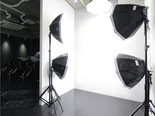 本格的なスタジオ設備もあり、施術後の写真を撮ることができます