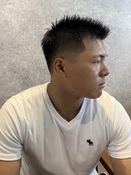 スポーツマン向け短髪ヘア<理容室> <日野/床屋/メンズ>
