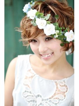 天使のくるふわショートヘア