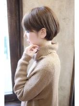 【+~ing  deux】大人可愛いグレージュショートボブ .18