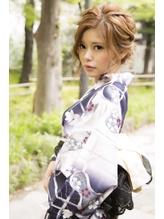 この夏の浴衣美人は貴女!【浴衣ヘアアレンジ×着付け】¥4500.29
