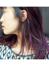 pink.purpleでムラ染め♪.36