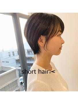 【K-two栄町/矢場町/久屋大通】大人かわいいショートヘア