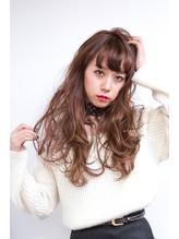 ☆バイオレットピンク&グラデーションの小悪魔ロングウェーブ☆ 小悪魔.57