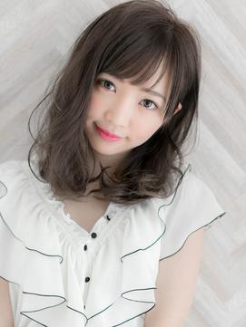 【Ami】渋谷/石原さとみさん風/愛されデジタルパーマセミディ