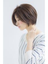 【Ramie寺尾拓巳】大人女子グレージュ×前下がりショートボブ 大人女子.5