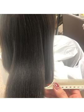 髪質改善縮毛矯正×オリーブカラー【摂津本山/芦屋】