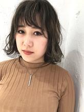 Ayaka original★3Dカラー!!グレージュ×whiteハイライト☆.32