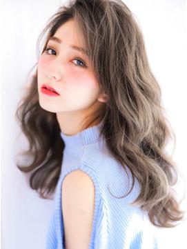 【くすみブルー☆オリーブカラー】透け感艶カラー☆寒色系カラー