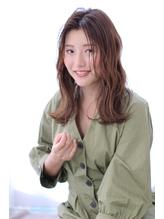 【lagoon 阿部春菜】切りっぱなしヘルシーミディ.50