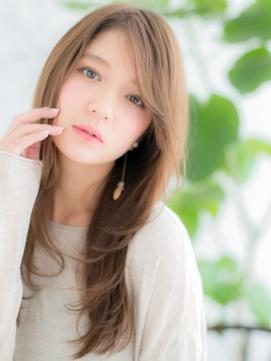【錦糸町美容院Agate】ミルクベージュで大人ロングウルフd