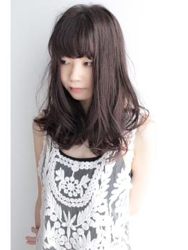 【Third】ラフミックスカール × ベーシックローレイヤー