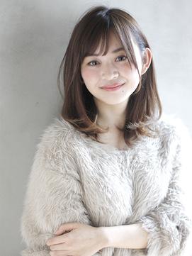 [K-two銀座]大人かわいい毛先パーマ/アッシュブラウン