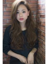 CIEN by ar hair片瀬『浜松可愛い』艶ベージュ×シフォンカール .12