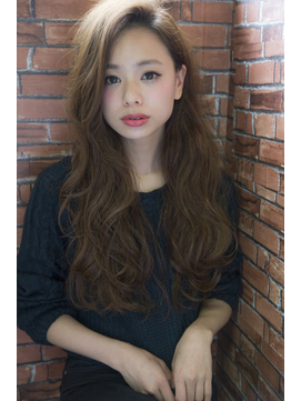 CIEN by ar hair片瀬『浜松可愛い』艶ベージュ×シフォンカール