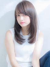 XELHA【谷 賢二】柔らか透明感ストレート セミディ.53