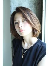 前髪長めまとまるボブスタイル☆ ホットカーラー.27