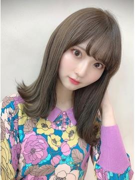 【Euphoria山村】ナチュラル可愛い☆小顔外はねロブ【銀座】