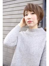 【MALUNA ヒマワリ】横顔美人ショート.18