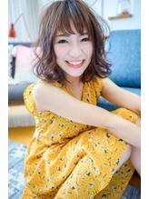 【Lond jeloud】川瀬賢翁 愛されエアリーボブ×ジグザグバング.53