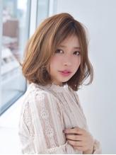 ライトベージュ☆ふわボブ 《aL-ter LieN ノノヤマ》.18