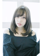 【Lucy 新宿】大人かわいいグレージュミディアム .16