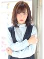 ■MUSEUM■ショコラブラウンのミディアムカールヘア☆