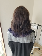 ラベンダー裾カラー.1
