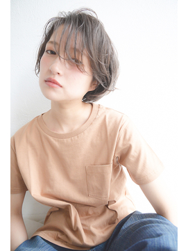 《vicca 横山》 束感バング×ショートボブ【表参道,原宿】