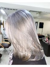 metallic silver.23